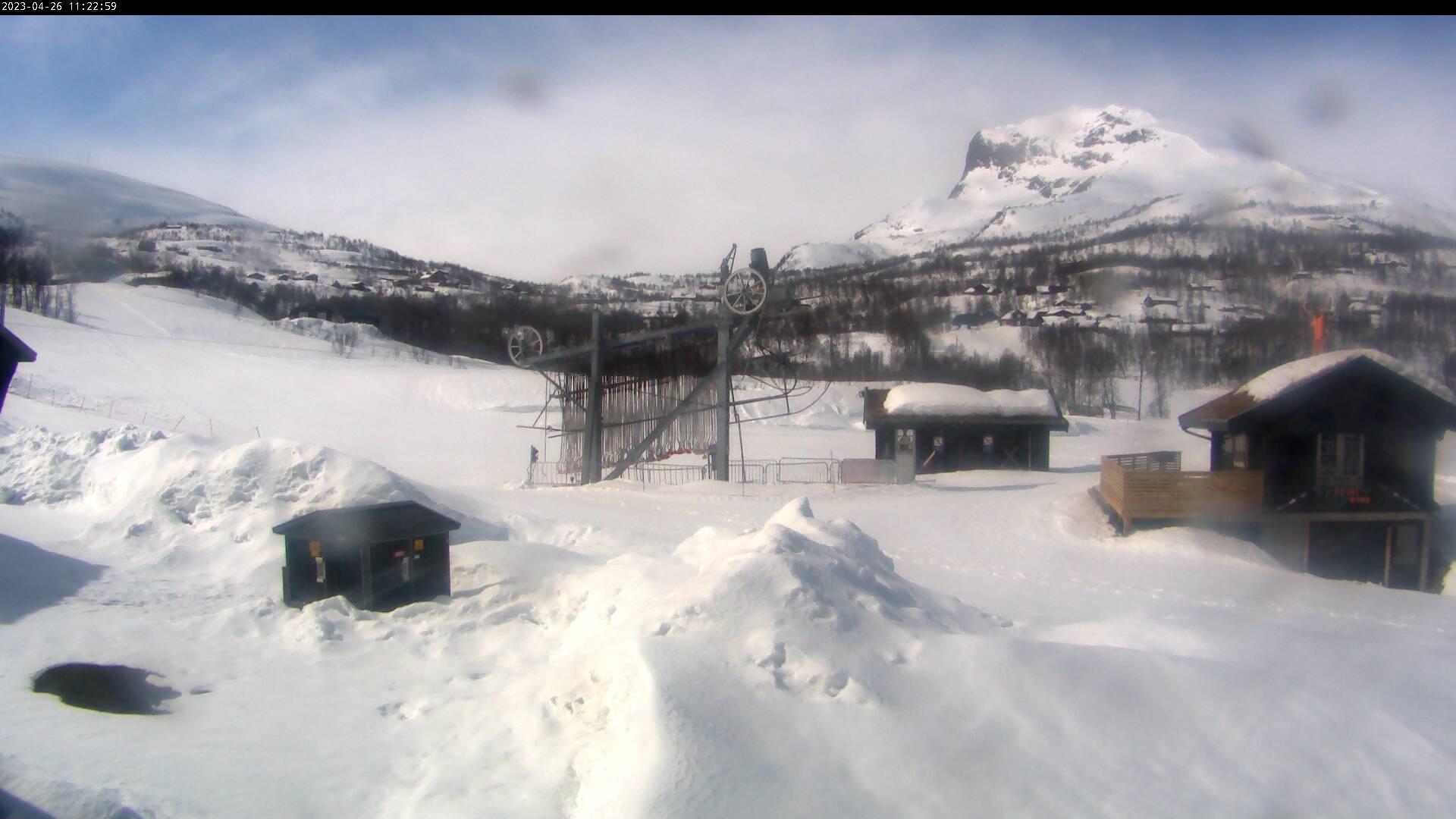Webcam Tyinkrysset, Vang, Oppland, Norwegen